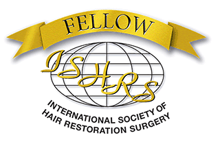 Alba Reyes Sagiv is a Fellow of the International Society of Hair Restoration Surgery (FISHRS)