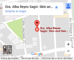 Alba Reyes mapa